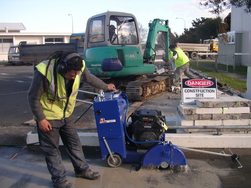 Residential Concrete Cutting