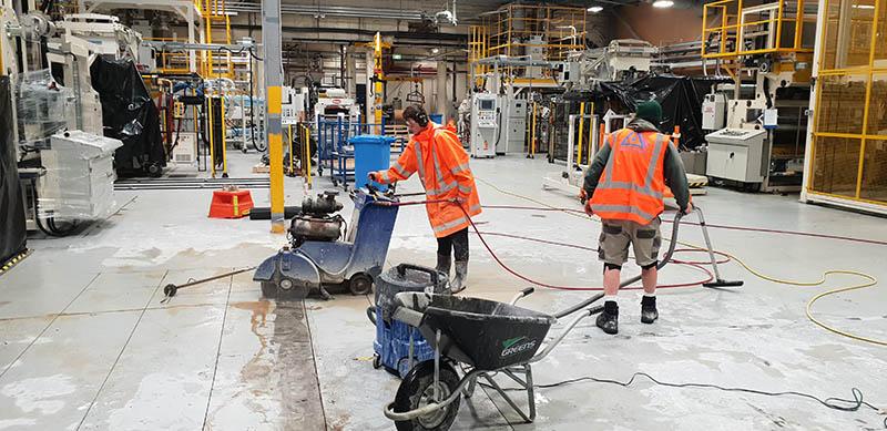 Concrete Construction Team Wellington