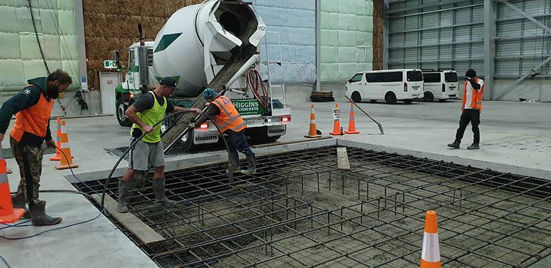 Pouring Concrete Foundations Wellington
