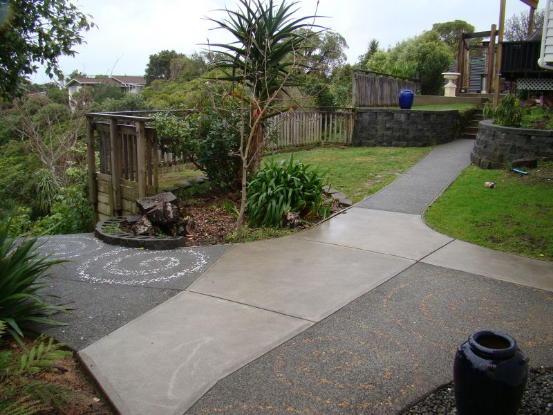 Residential Concrete Paths