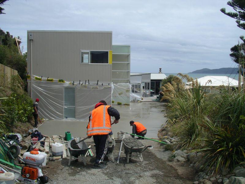 Concrete House Protection