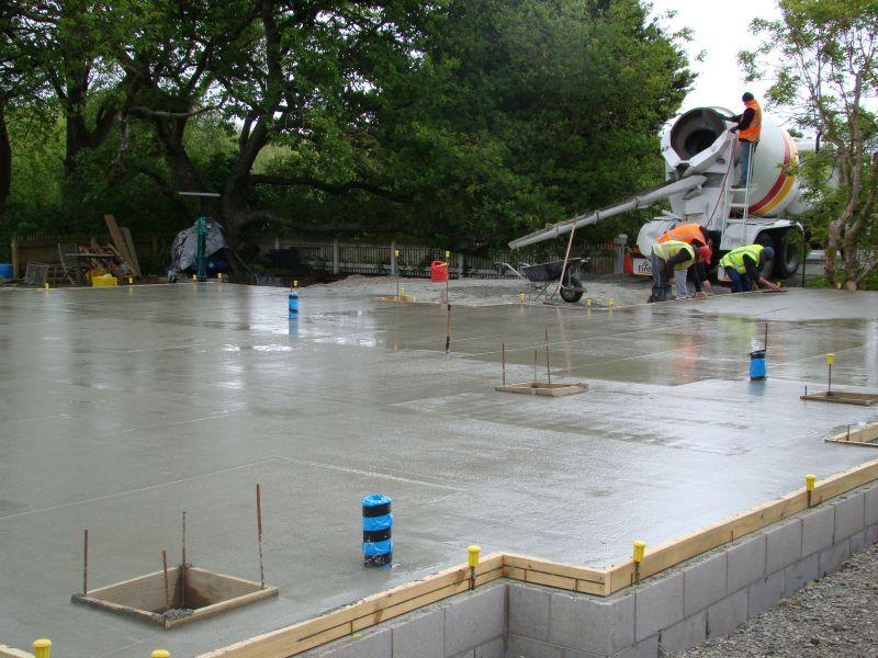 Concrete House Slabs