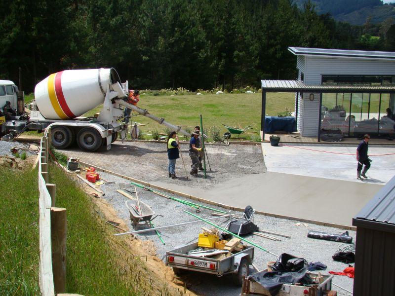 Concrete for New Build Residential